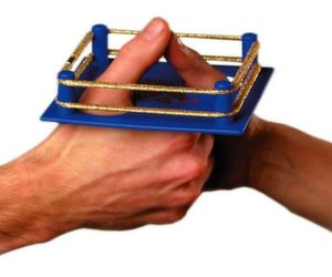 portable thumb wrestling arena
