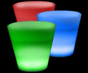 glowing led shot glass