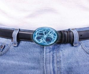 blue plasma belt clip