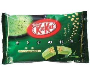 japanese green tea flavored kit kat bar