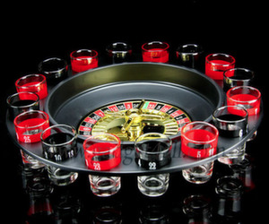 shot glass routlette drinking set