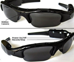 Covert spy glasses wih hidden camera for spies