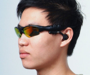 Sunglasses with mp3 and bluetooth