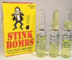 stink bomb vials