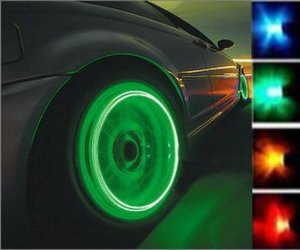 LED tire cap
