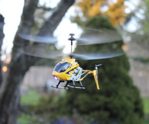 syma remote control yellow hellicopter