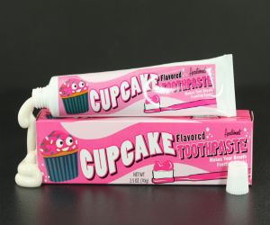 toothpaste that tastes like cupcakes