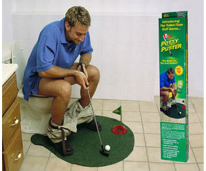 Toilet-golf-game