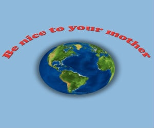 Shityoucanafford the best products on amazon under 20s be nice to your mother earth shirt gumiabroncs Choice Image