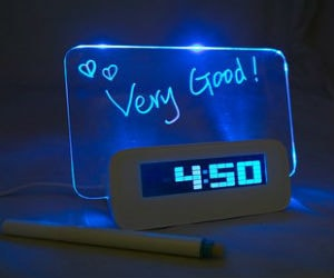 LED-message-clock-with-USB